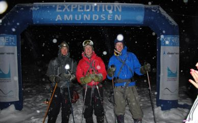 Fullførte ekspedisjonen i storm