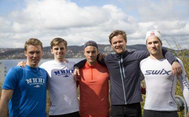 «Syrefest» i årets siste NHH-løp