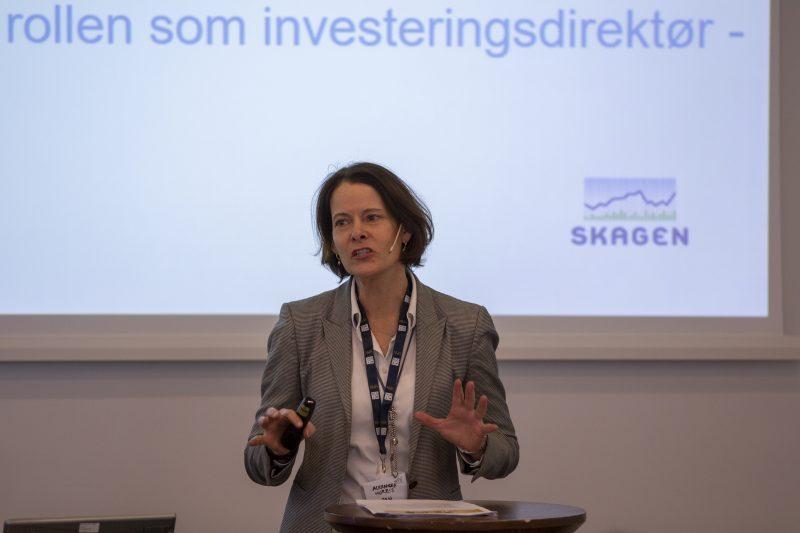 Alexandra Morris, investeringsdirektør Skagenfondene