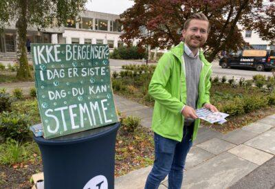 Kraftig Venstre-byks og rekordlav Høyre-oppslutning på NHH
